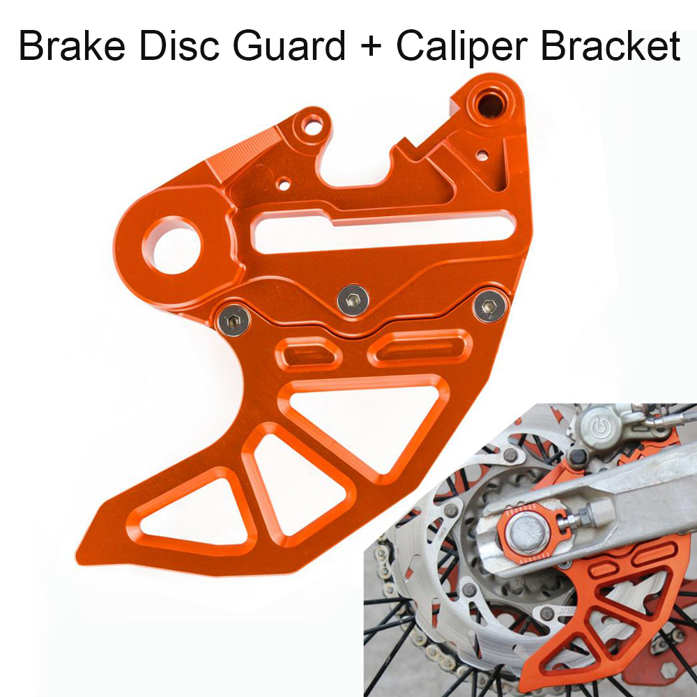 Rear Brake Disc Guard For <font><b>KTM</b></font> 125 150 200 250 300 350 <font><b>450</b></font> 500 530 SX SXF EXC EXCF XC XCF XCFW XCW <font><b>2017</b></font> 2018 2019 20mm 25mm Axle image