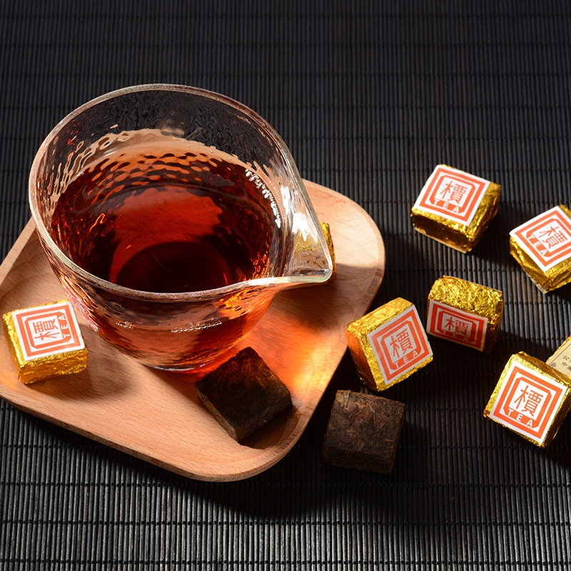 2003 Year Small Pu-Erh Tea Brick 200g 2