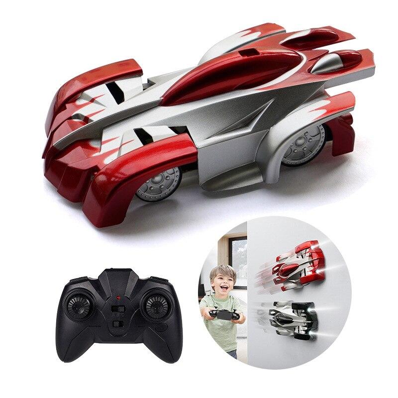 Mini RC Wall Car 360 Rotat Remote Control Stunt Car Electric Toys Radio Controlled Auto Antigravity Machine Wall Racer