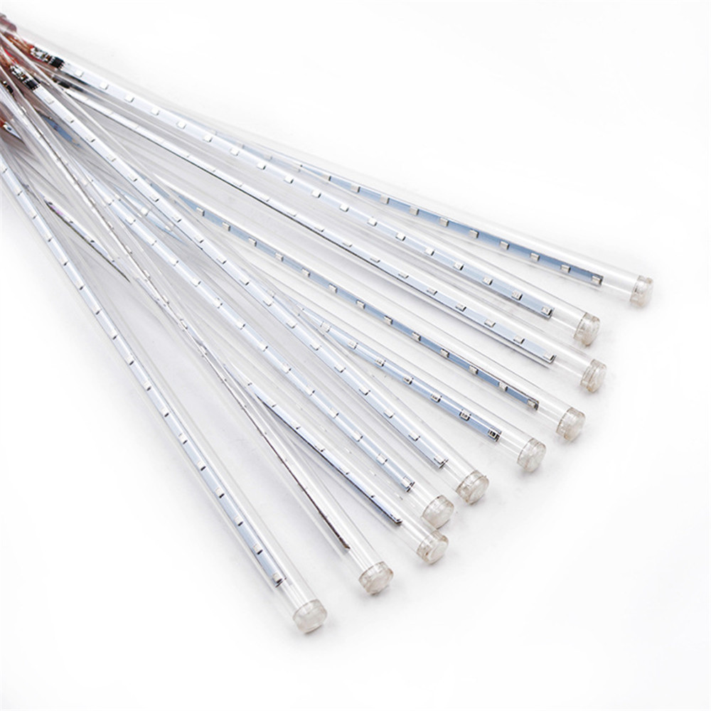 10 tubos 50cm led luz solar ao