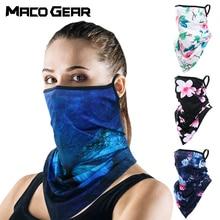 Cycling Scarf Headband Neck Gaiter Hiking-Bandana Ski-Printed-Masks Half-Face-Mask Uv-Cover