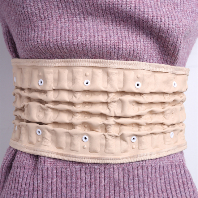 Physical Lumbar Decompression Back Belt Back Support & Lumbar Traction Belt Spinal Air Traction Belt for Lower Back Pain Relief 4