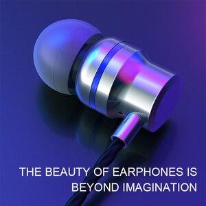 Image 2 - TOPK F16 سماعات مع المدمج في MicrophoneType C في الأذن السلكية سماعة آيفون شاومي سامسونج الهاتف