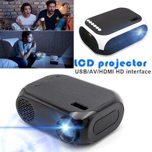 Поддержка 1080P HD домашний проектор AV/USB/HDMI, мультимедийный плеер, ЖК-дисплей, светодиодный проектор, 3D HDMI 2500 лм, HD ЖК-проектор, ноутбук