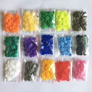 10/20/50/100/150/240 Sets KAM T5 12mm Round Plastic Snap Buttons For Baby Children Clothes DIY Sewing Accessories Press Button