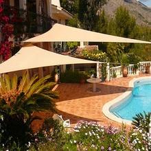 Canopies SHELTERS Sun-Shade Outdoor Waterproof Sails Yard Garden 3X3X3M Top-Cover Uv-Block