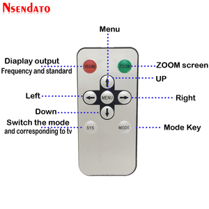 Image 5 - Analog TVเครื่องส่งสัญญาณHD To RF HDวิทยุความถี่สัญญาณHD Modulatorกล่องConverterพร้อมRemomeควบคุมซูมสำหรับHDTV PC
