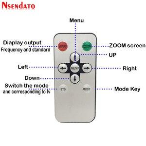 Image 5 - Telewizja analogowa nadajnik HD na RF HD na sygnał częstotliwości radiowej HD Modulator Box konwerter z pilotem zoom dla HDTV PC