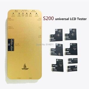Image 4 - 6 en 1 pour iphone 6S 6S plus 7 7plus 8 8plus boîte de testeur décran tactile avec des outils de boîte de testeur daffichage à cristaux liquides de carte dessai