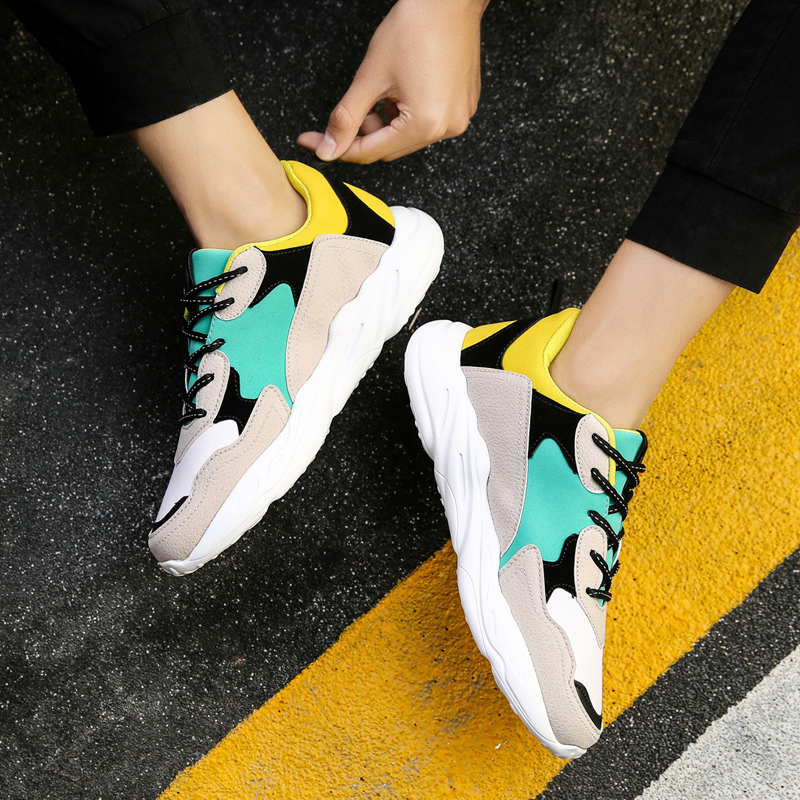 Leader Show Men Sports Shoes For Trend Comfortable Shoes Man Sneakers Trend Training Shoes Zapatillas Hombre Men Running Shoes