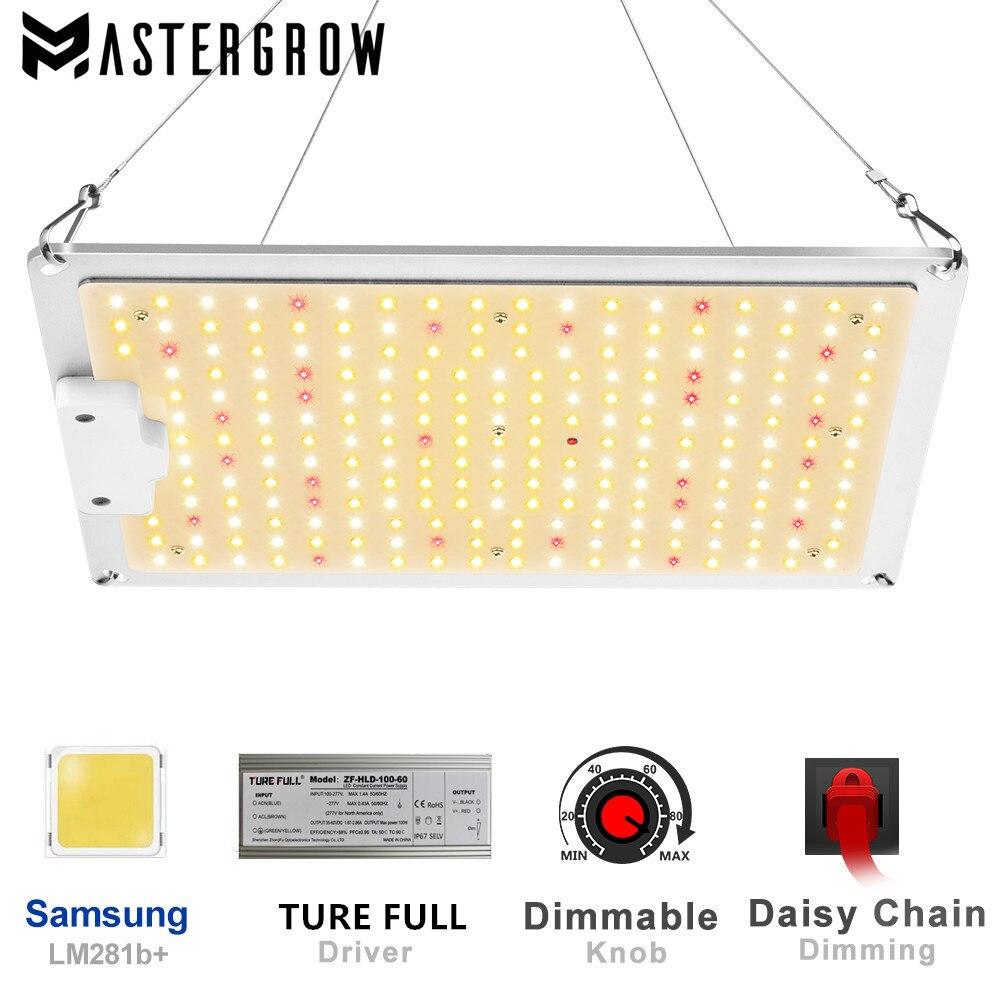 Volledige Spectrum Qbc 1000W Samsung LM281B Dimbare Quantum Led Grow Light Met 3000K 5000K Ir Voor Indoor plant Greenhouse Grow Tent