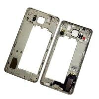 삼성 G850F 갤럭시 알파 SM-G850F G850A G850 전화에 대한 원래 프레임 버튼 키가있는 새로운 중간 베젤 하우징 센터 프레임