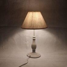 E14 الجدول مصباح 40 واط البيج الصغيرة بجانب الإضاءة لغرفة النوم القراءة مصباح LED أبيض هادئ العناية بالعين ليلة ديكور الإضاءة