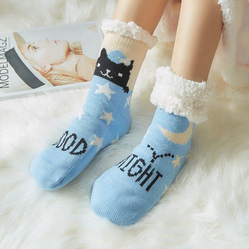 卡通地板袜_地毯袜卡通地板袜成人家居袜冬季女加厚睡眠拖鞋袜批发 - 阿里巴巴 - 1 (2)