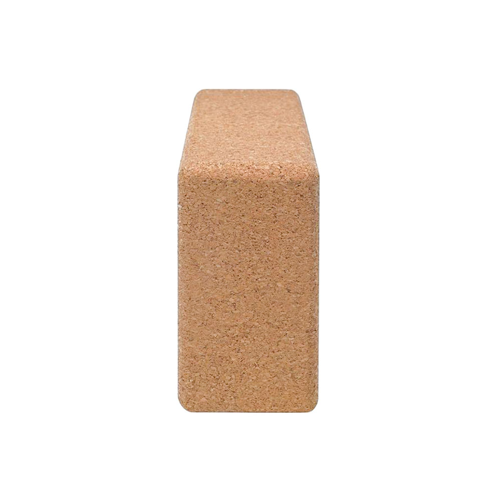 1PC 100% Cork Wood Yoga Block Brick Workout Equipment Odorless Fitness Gym Exercise Sport Tool Can Accept Logo Patter Design 2