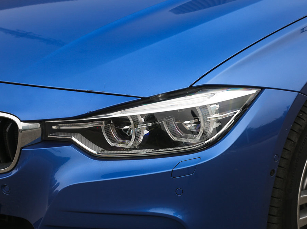 Glove Box above stripe cover Trim 2pcs For BMW 3 series F30 320 328 2013-2015