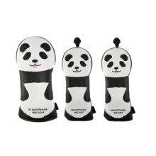 NRC Golf Headcover Golf Panda Golf Driver Fairway Wood set Cartoon head covers