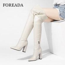 Foreada/Женская обувь на очень высоком каблуке; Сапоги выше