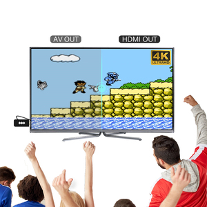 Image 4 - Data Frog TV Video Game Console 8 Bit Built in 1400 Classic Retro Games Potable Mini Wireless Controller AV/HD Output Dandy