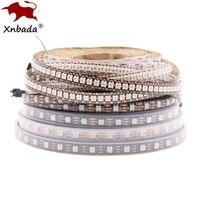 Tira de luces Led SK6812 RGBW, 4 en 1, Similar a WS2812B, 30, 60, 144 Led/m, direccionable Individual, RGBWW, IP30, 65, 67, DC5V