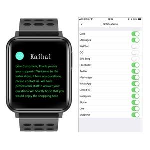 Image 1 - KAIHAI ECG PPG SpO2 activity tracker fitness watches smart watch men blood pressure Heart rate monitor oxygen health smartwatch
