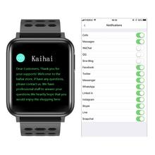 Kaihai Ecg Ppg SpO2 Activiteit Tracker Fitness Horloges Smart Watch Mannen Bloeddruk Hartslagmeter Zuurstof Gezondheid Smartwatch
