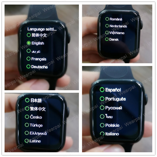 Wearpai HW12 Smart Watch 1.57' Bluetooth call Music Player Heart Rate Monitor Smart split screen display Smartwatch PK IWO12 W26 6
