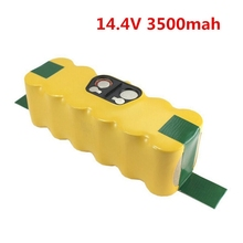 14.4V 3500mAh Ni-MH Rechargeable Battery for Irobot Roomba 500 510 530 531 535 540 545 550 560 562 570 580 581 600 780 батарея аккумуляторная для пылесоса irobot roomba 500 510 530 560 780 3000 mah