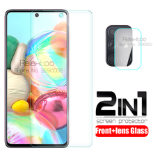 2-in-1 camera protective glass For samsung galaxy a71 a51 2019 a 51 71 51a 71a a515F a715F