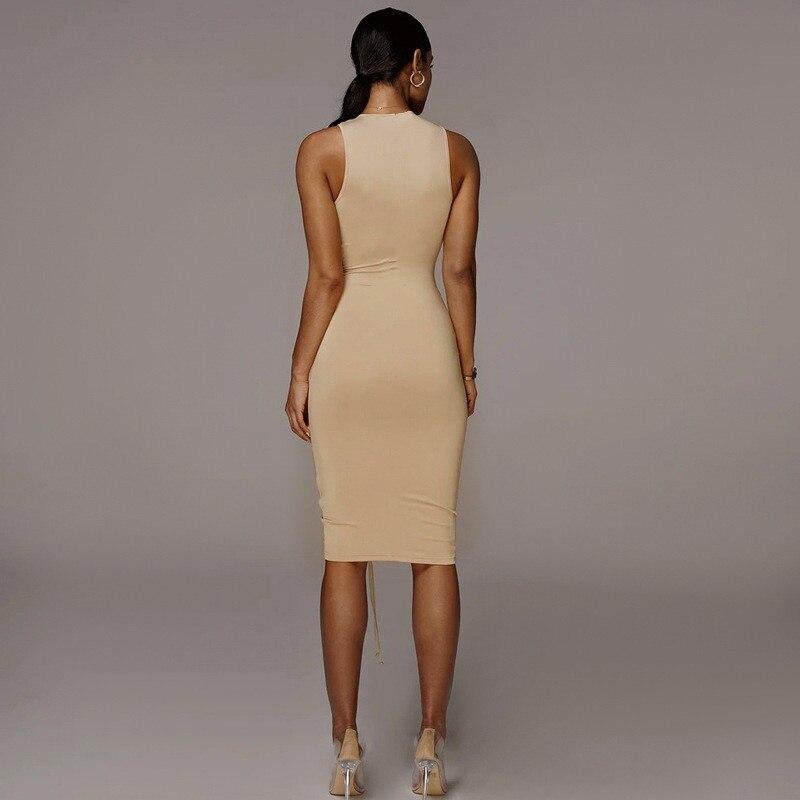 sleeveless mini short dress12