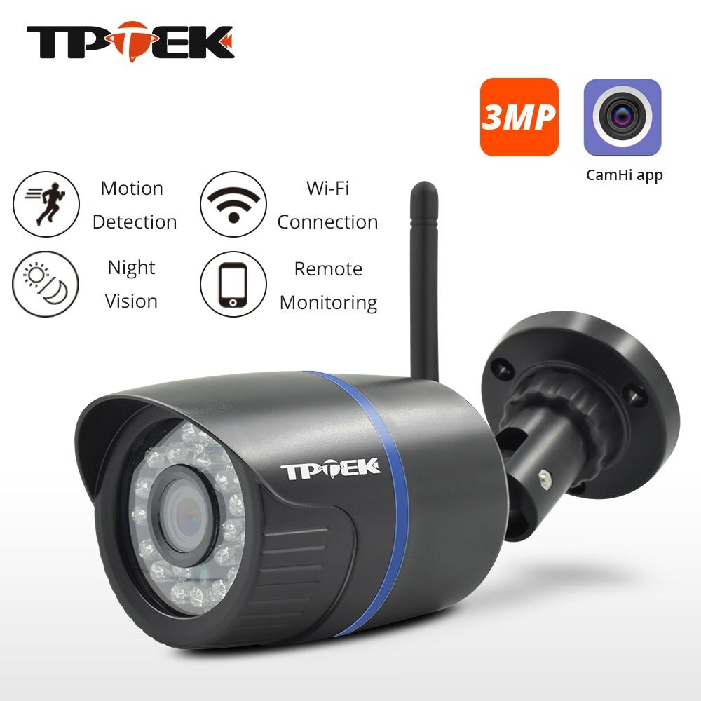 3MP IP Camera WiFi Outdoor Security Camera 1080P Wi Fi Surveillance Wireless Wired 720P Wi-Fi CCTV Waterproof Onvif CamHi Camara
