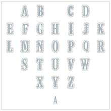 26 English Alphabet Metal Cutting dies Plastic Stencil For DIY Scrapbooking New 2019 Paper Cards Making Dies