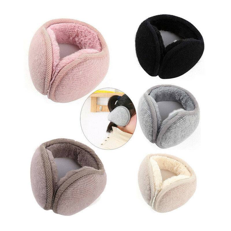 Hot Winter Unisex Ear Muffs Earmuffs Ear Warmer Head Band Adjustable Lady Men Girls Boys