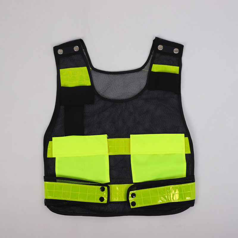 Manufacturers Direct Selling Reflective Vest Hot Pressing Traffic Safe Reflective Waistcoat Security On Duty Protective Vest Ref