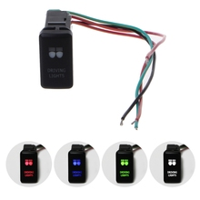 Car Fog Light Switch Wire Laser Button Switch For Toyota Prado Landcruiser FJ Automobile SUV Switch Push Button Vehicle Switches