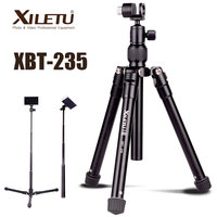 XILETU XBT 235 3in1 Extension Selfie Stick and Mini Tripod Stand With Phone Holder for Smartphone,DSLR and Mirrorless Camera