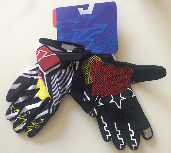 (Red Bull) Motorcycle Off-road Mountain Bike Sports Outdoor Climbing Fitness Wear-Resistant Red Bull Cycling Gloves