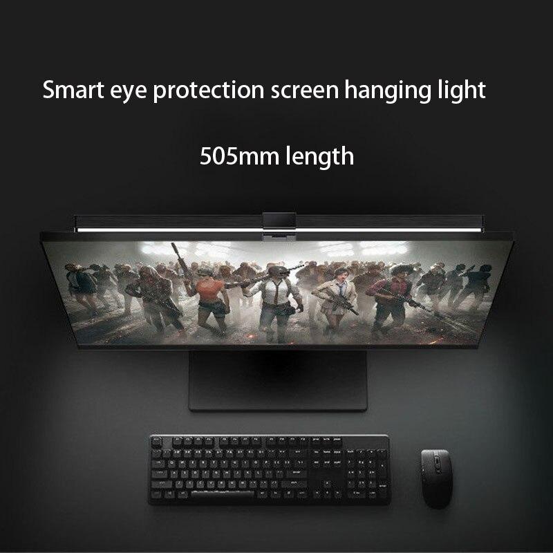 Lâmpada de mesa led lâmpada de leitura pingente monitor tela do computador pendurado lâmpada proteção para os olhos usb escritório casa