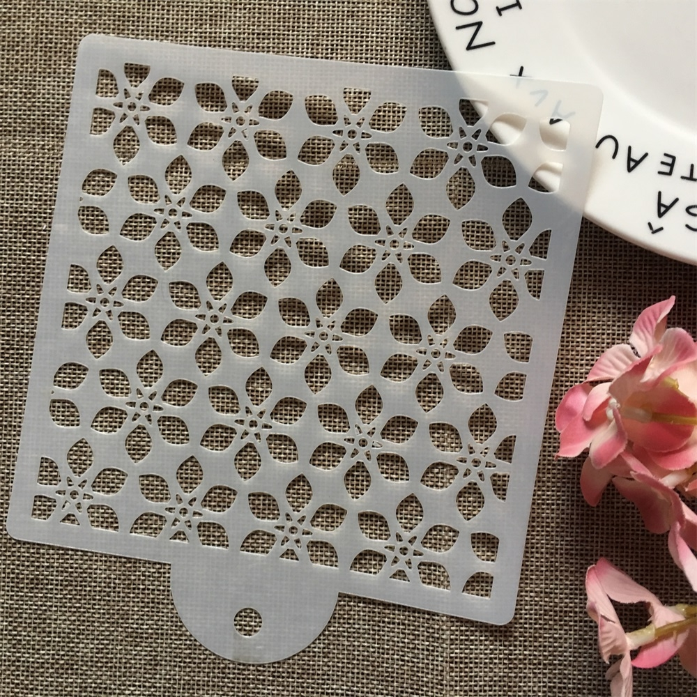 15cm Flowers DIY Layering Stencils Wall Painting Scrapbook Coloring Embossing Album Decorative Card Template