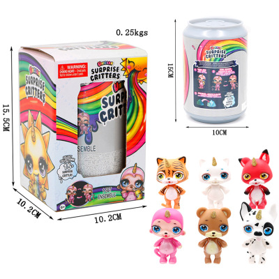 Decompression Toy Squeezing Unicorn Jar Sparkle Splitter Poopsie Slime Unicorne Soft Relief Stress Squishies Squeeze Toy