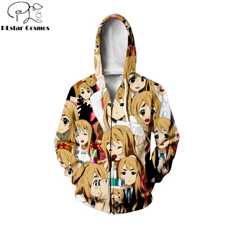 PLstar Cosmos Ahegao Kawaii janpan K On Keion 3d hoodies shirt sweatshirt Halloween ChristmasAnime Unisex Face Pullovers 22 in Hoodies amp Sweatshirts from Men 39 s Clothing