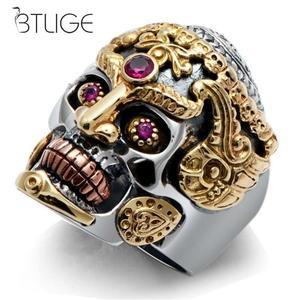 Fashion Men Domineering Skull