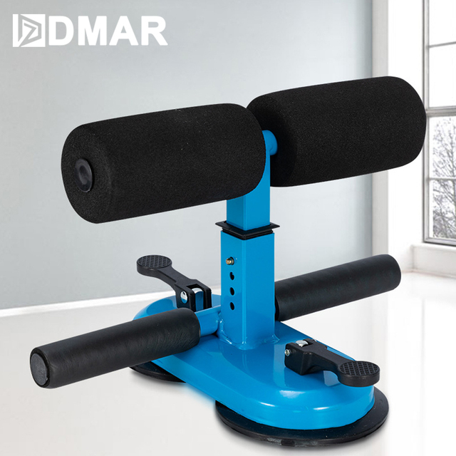 DMAR Adjustable Sit Up Bars Abdominal Core Workout Strength Training Sit up Assist Exercise Fitness Equipment Home Gym Yoga Mat 1