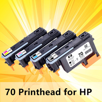 Print head 70 compatible for hp70 replacement for hp 70 C9404A C9405A C9406A C9407A Designjet Z2100 Z5200 Z3100 Z3200 printer image