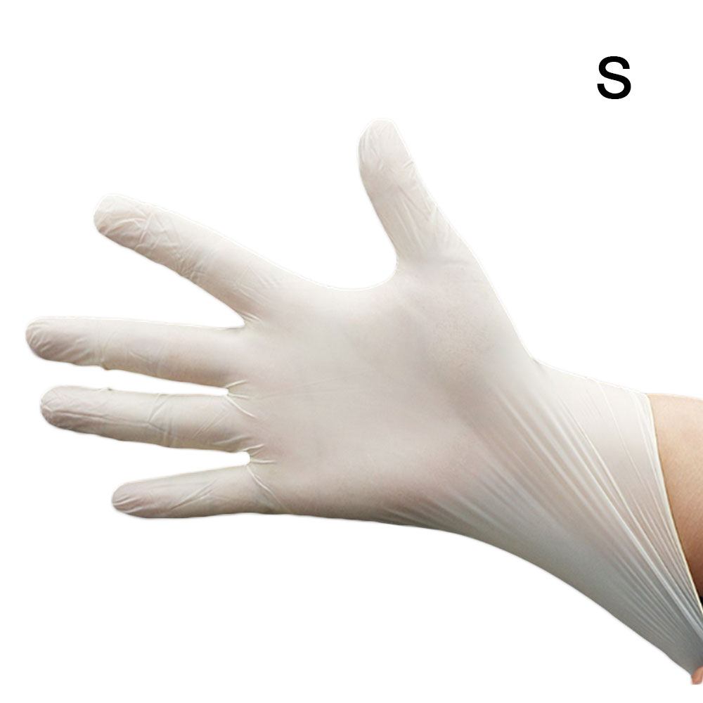 100pcs Disposable Non-Toxic No Contact Pvc Hygienic Gloves Kitchen Dishwashing Work Gardening Adult Hand Protection Gloves