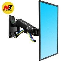 NB Nord Bayou F120 Full Motion Monitor di Montaggio A Parete TV Staffa A Parete con Molla A Gas Regolabile Braccio per 17