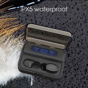 Image 5 - Kebidu TWS بلوتوث 5.0 سماعة S590 9D سماعات أذن استريو LED شاشة ديجيتال سماعات لاسلكية سماعات أذن رياضية محمولة