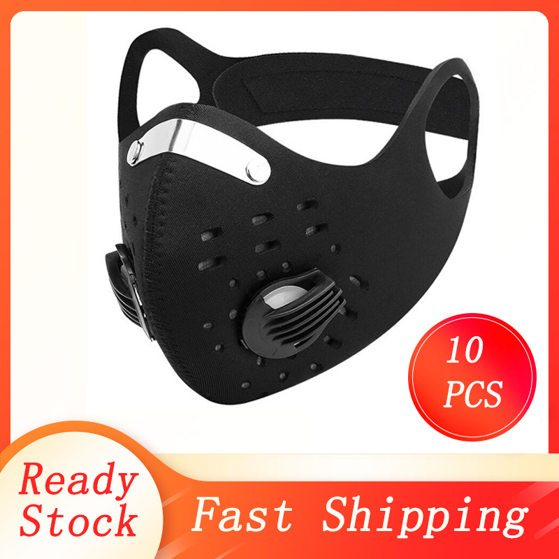 Dustproof Air Filter FFP3 Mask Breathable Double Valve PM2.5 Dust Mask Respirator Dust Mask Mouth Respirator FFP2 Cycling Mask