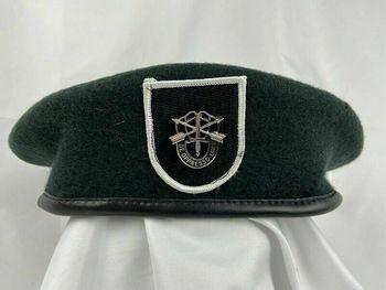 Armia usa 5 Siły specjalne grupa zielony beret siły specjalne Sf insygnia kapelusz tanie i dobre opinie