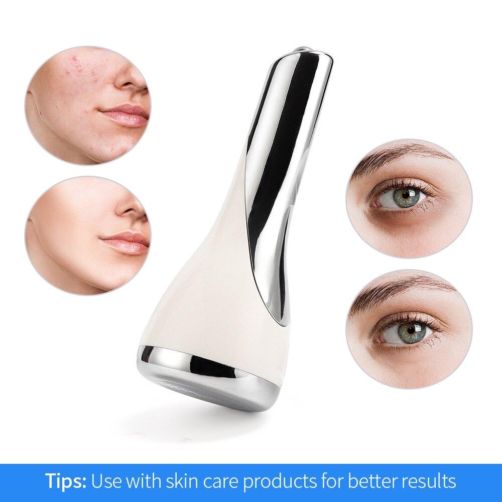 Массажер для подтяжки кожи мини микротоковое роликовое устройство для подтяжки лица Вибрация эссенция омоложения кожи удаление морщин